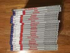 MyReportLinks.com Lot of 20 State Books + Vietnam War. All Ex Library!