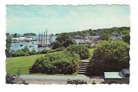 Camden Harbor Maine Vintage Postcard A141
