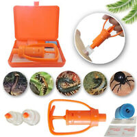 Outdoor Emergency Venom Extractor Pump  Safety Snake Bite Tool Kit Hot