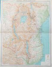 Vintage Original Antique Africa Maps Atlases Ebay