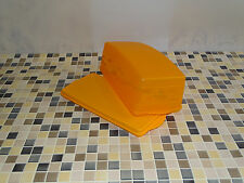 Tupperware J 29 Junge Welle, Kastenkuchenbehälter orange NEU RAR