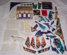 Stern Ripley's Believe It Or Not Pinball Machine Plastic Set 803-5000-81 NOS!