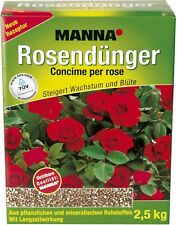 Manna Rosendünger 2,5kg Dünger Pflanzendünger Blumendünger Pflanzen düngen Neu