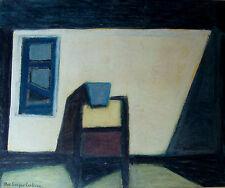 """MAX Gregor Carlsson * 1914, gli studenti di André Lhote, """"interni"""", mischtechn, per 1950"""