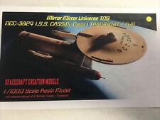 Star Trek Starship Tug Class Uss Ptolemy Ncc-3801 Resin Kit1:1000 Scale