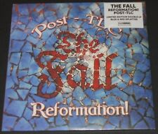 THE FALL reformation post-tlc UK 2-LP new sealed LIMITED red & blue vinyl
