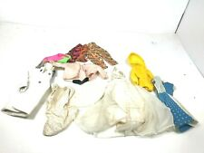 Mattel Vintage Barbie Doll Clothes Mixed Lot Original Wedding Dress