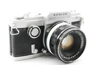 Rare【Near Mint】Konica Autorex P Film Camera w/Hexanon 52mm f/1.8 From Japan #890