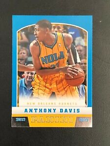 2012-13 Panini - Anthony Davis - Rookie Card