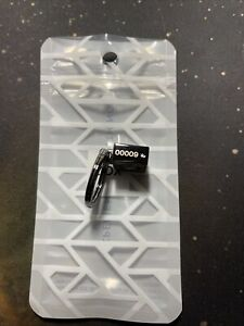 ZOX Charcoal Key Ring #9 Brand New For Single Straps RARE LOW NUMBER