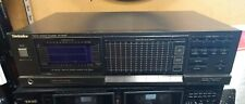 Technics SH-8066 Stereo Graphic Equalizer Spectrum Analyzer 12 Band RARE Works!