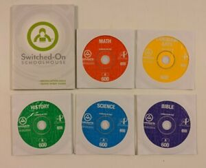 Switched on Schoolhouse 6th Grade CD Set!  SOS