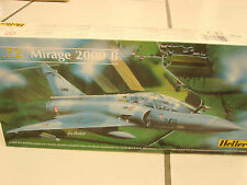 Heller 1/72 Mirage 2000 B military aircraft #80322 plastic model kit
