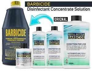 ORIGINAL Barbicide Disinfctant Germicide - VARIOUS SIZES AVAILABLE - BARGAIN!