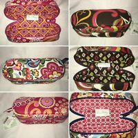 Vera Bradley Zip-Up Sunglass Cases - Multiple Patterns Available - New