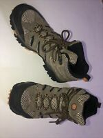 Merrell Mens Moab Ventilator Walnut Hiking Shoe Boot Continuum Vibram Sz 8.5