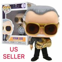 Funko Pop Endgame Exclusive: Stan Lee w/ Infinity Gauntlet(Side Stance Ver.)
