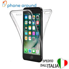 APPLE Cover case custodia RIGIDA 360 trasparente Iphone 6 6s 7 8 plus X Xs rifI1