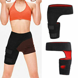 Pain Relief Groin Support Bandage Thigh Brace Wrap for Pulled Muscles Hip Strap