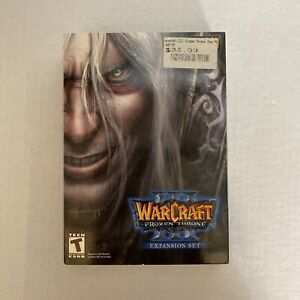 Warcraft 3 Frozen Throne Expansion Set New in Sealed Box