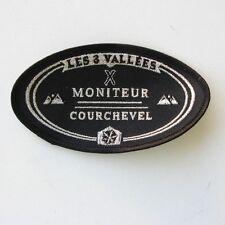 Ancien écusson Moniteur Courchevel - Les 3 Vallées -Collector -Etat neuf -SAVOIE