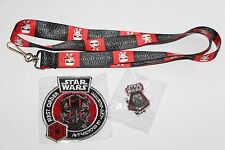 Funko STAR WARS The Force Awakens Exclusive Smugglers Bounty Lanyard Pin Patch
