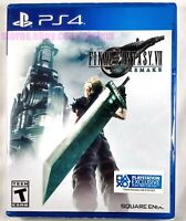 FINAL FANTASY VII REMAKE Brand New Sealed PS4 2020 Game FF7 7 USA Release