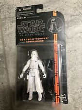 Hasbro Star Wars The Black Series Snowtrooper Commander #24