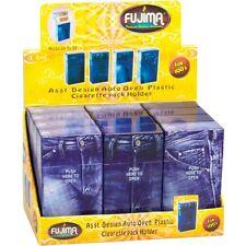 Fujima Flip Top Cigarette Case 100's Asst Blue Jean Style