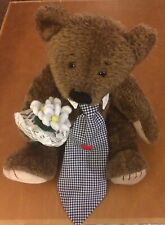 First & Main Menagerie Jointed Brown Bear Named Hopeless 14""