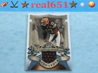 2007 Bowman Sterling BRAYLON EDWARDS Relic-Jersey   Michigan   Browns Game-Used