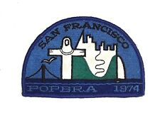 Vintage Off Shore Racing Patch San Francisco POPBRA 1975, Nicely embroidered