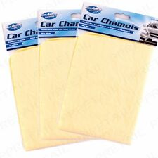 30cm X 40cm Car Cleaning Drying Washing Shammy Chamois Leather Cloth Synthetic