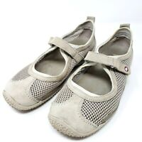 Merrell Circuit MJ Breeze Women's 7.5 Taupe Mary Jane Ortholite Comfort Shoes