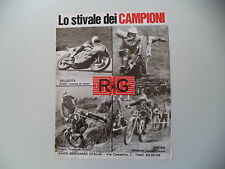 advertising Pubblicità 1976 RG e OSSA 350 TRIAL TOSCO/BRISSONI/ALESSANDRO GRITTI