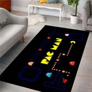 Pacman New 4 Rug,Fan Carpet NonSlip Floor Carpet,Teen's Rug,Kids Rug,Area Rug