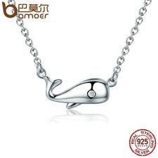 ocean Pendant For Women Jewelry Bamoer S925 Sterling silver Necklace fantastic