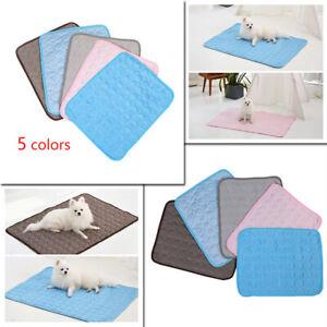 Summer Sleeping Dog Cat Pet Blanket Cooling Mat Ice Pad Kennel Mat XS/S