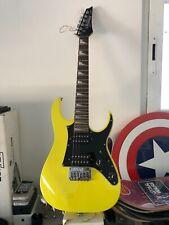 Ibanez GRGM21 MYL Mikro 3/4 Electric Guitar Yellow