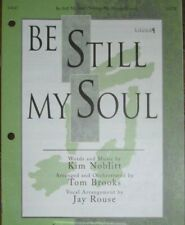Church Choir Anthem: Be Still My Soul - Multiple Lots of 10