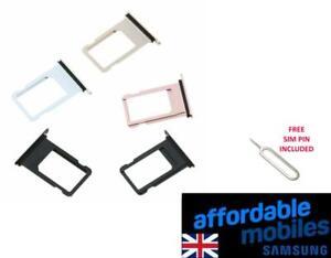 Replacement Nano Sim Card Tray for Apple iPhone 7 / 7 plus /  plus Free Sim Pin