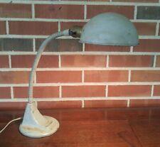 Vintage Industrial Metal Flex Neck Lamp Desk Light Art Specialty Mid Century