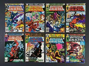 Run of (8) Battlestar Galactica (1979-80) #2-21 Marvel Comics