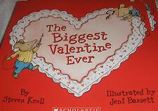 The Biggest Valentine Ever (Brand New Paperback) Steven Kroll
