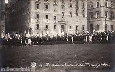 #ROMA-PROCESSIONE EUCARISTICA -MAGGIO 1922- FOTO