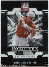 BRANDON BELT San Francisco Giants 2009 Donruss Elite 1st rookie!  Qty. available