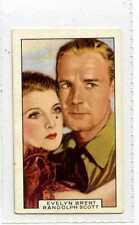(Js329-100) Gallaher,Film Partners,Evelyn Brent & Randolph Scott,1935 #45