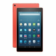 "✔ Amazon Kindle Fire HD 8 8"" 32GB Wi-Fi Tablet - Tangerine (6 Gen) ✔"