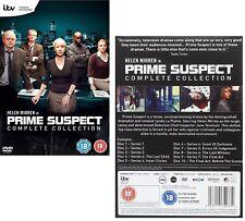 PRIME SUSPECT 1-7 (1991-2006): COMPLETE Crime/Darma TV Season Series  NEW DVD UK