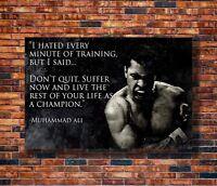 30x20 36x24 Silk Poster CONOR McGREGOR Muhammad Ali UFC MMA Motivational T-605